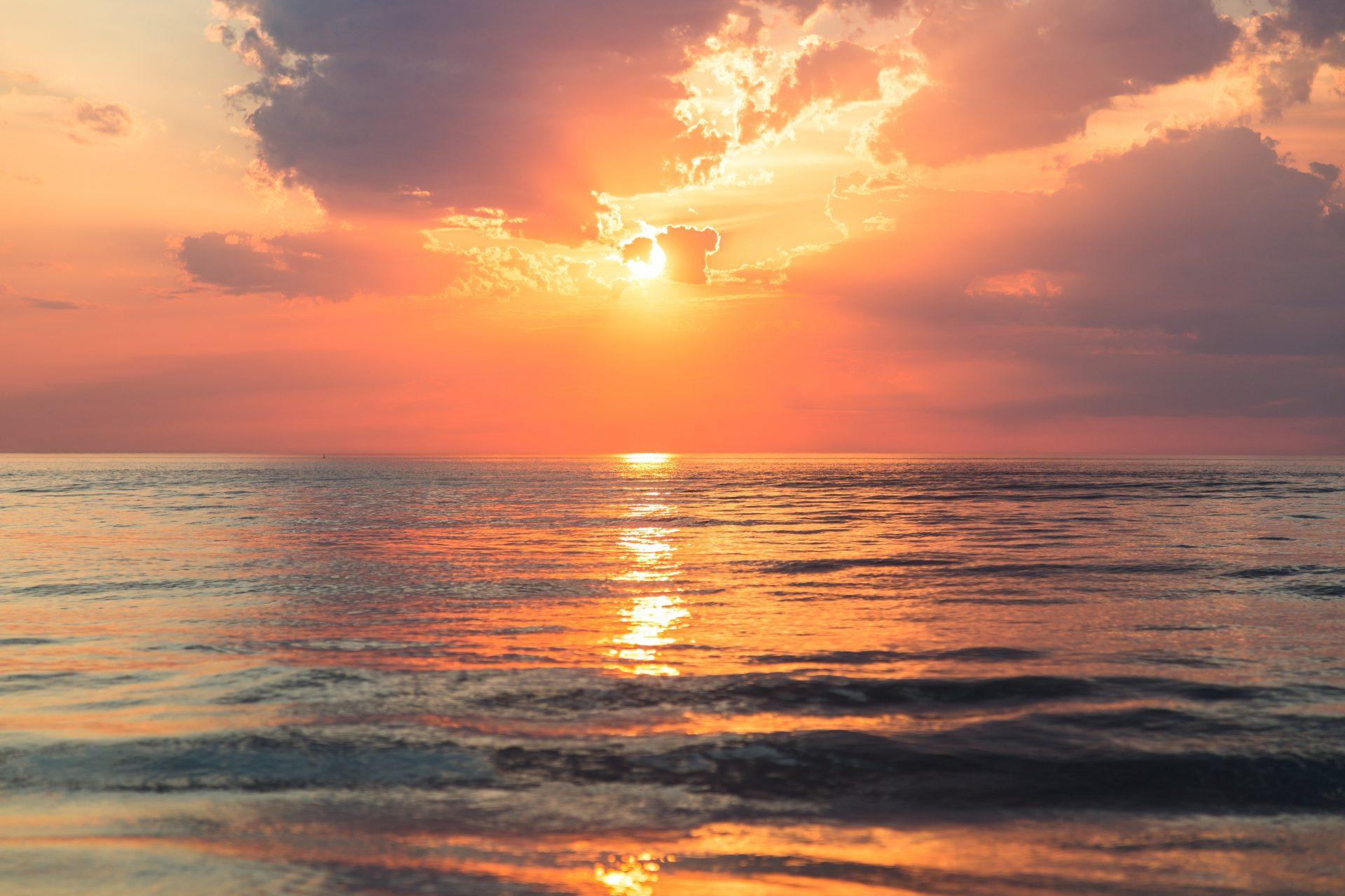 tramonto laguna